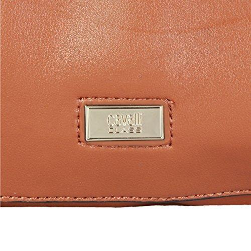 Genuine Class Handbag Designer Brown Women Cavalli vqEwFFI