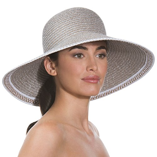 Eric Javits Luxury Fashion Designer Women's Headwear Hat - Bella - Frost/White by Eric Javits