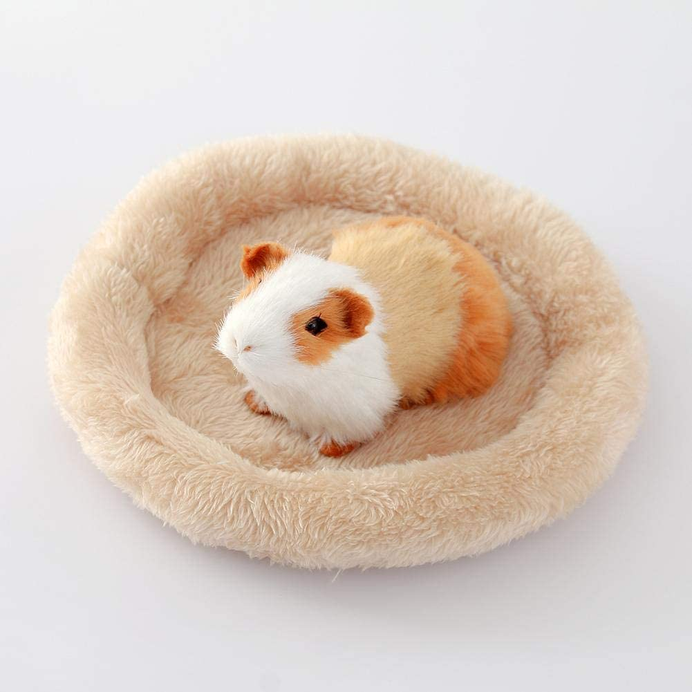 Hedgehog Golden Hamster Sue Supply Hamster Bedding,Small Pet Hamster Bed Nest,2Pcs//Set Velvet Warm Cotton Nest Pad For Hamster Small Animals Chinchillas Bunny Etc. Guinea Pig