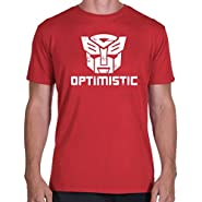 Be Optimistic - Autobots Transformers T-Shirt