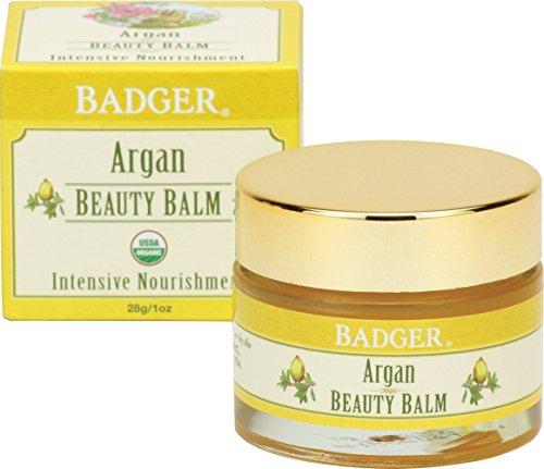 Badger Argan Beauty Balm - 1 oz Glass Jar (Hydra Floral Eye)