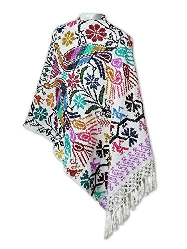 REBOZO BLANCO (shawl) -Punto de Cruz-  Diseño