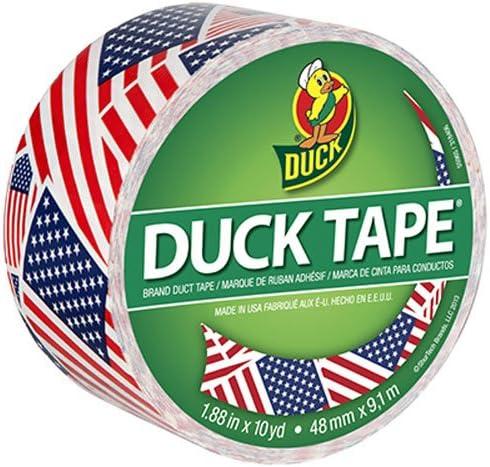 ShurTech Patterned Duck Tape X 9,1 10yd-us Bandera, Otros, Multicolor: Amazon.es: Hogar