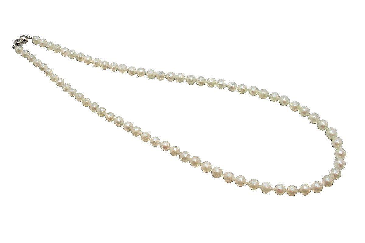 アコヤ本真珠ネックレス/5.5-6.0mm/ホワイト B004XERLXS