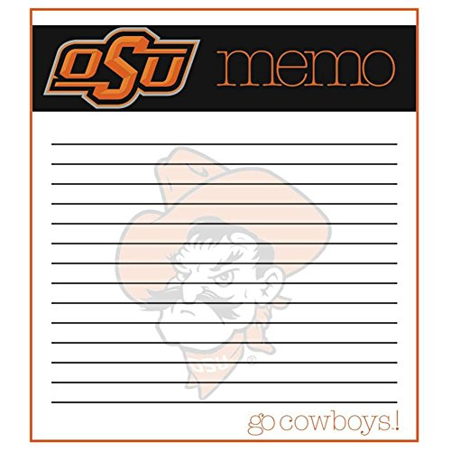 The Fanatic Group Oklahoma State Cowboys Memo Note Pad - 2 Pads