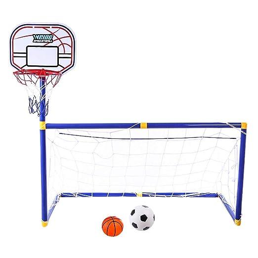poetryer 2 En 1 Juguetes De Futbol De Baloncesto Set De ...