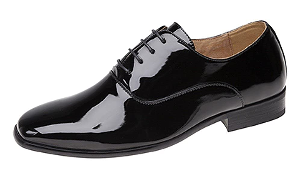 CABALLEROS NOCHE / UNIFORME / Oxford Zapatos charol negro