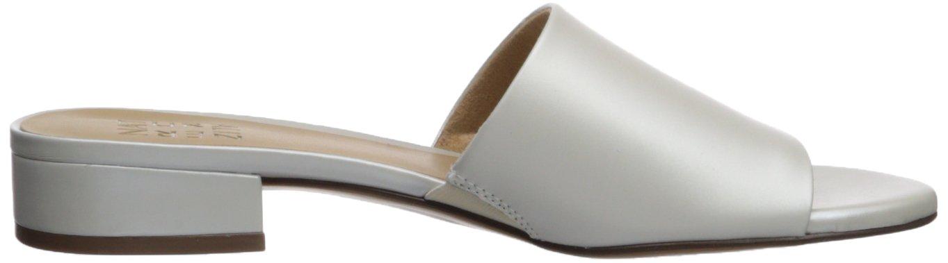 Naturalizer Women's Mason Slide W Sandal B073X1GP3F 12 W Slide US White 294335