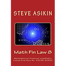 Math Fin Law 8: Mathematical Financial Law, Public Listed Firm Rule No.27116-30330