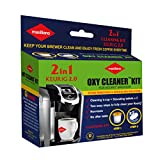 Maxiliano Oxy Cleaner Kit 2 in 1 Professional Descaling For All K-Cup Keurig 2.0 Brewers, Biodegradable, Full Cycle Cleaning and Descaler Solution