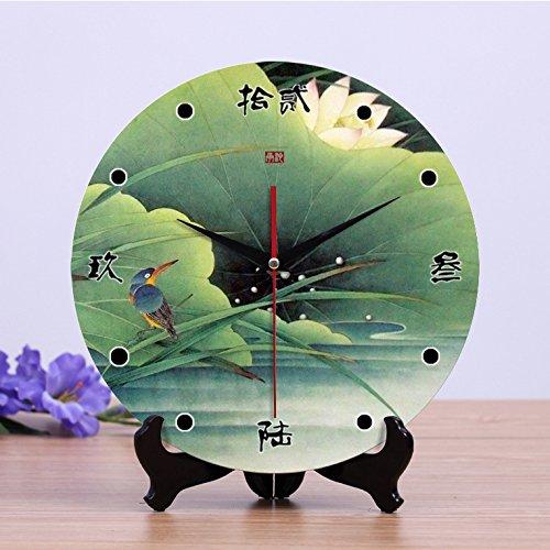 Creativo 12 pollici legno parete orologio orologio orologio orologio silenzioso dual accessori per la casa , 2