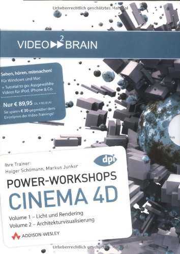 Cinema 4D 11 -Bundle - Video-Training (AW Videotraining Grafik/Fotografie)