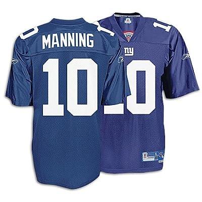 New York Giants Eli Manning Premier Adult Team Color Jersey, Size= Large