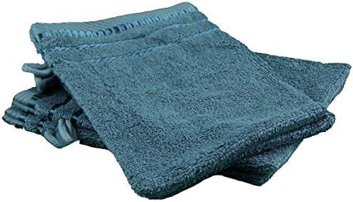 Gözze Manopla de baño, algodón Rizado, petróleo, 17 x 24 cm ...