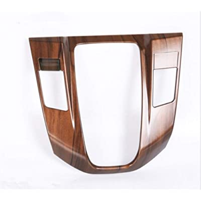 Flash2ning for Honda CRV CR-V 2020 2020 2020 2020 Peach Wood Grain Interior Gear Shift Panel Cover: Automotive