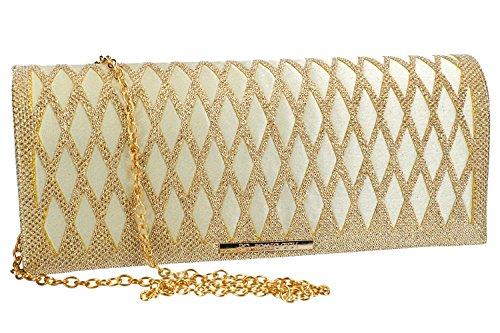Geldbeutel frau ROMEO GIGLI pochette gold Zeremonie VN1353