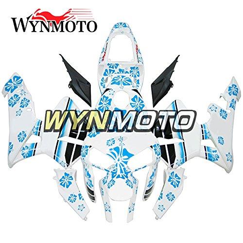 - Ceramicszb Blue White Porcelain Motorcycle Body Kit For Honda CBR600rr CBR600RR F5 05-06 2005 2006 Sportbike ABS Plastic Injection Fairings