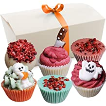 """BRUBAKER 6 Handmade """"Happy Monsters"""" Bath Melts Bath Truffles - All Natural Vegan, Organic Shea Butter, Cocoa Butter and Olive Oil"""