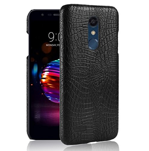 - LG LV3/K8 2017/Aristo/Phoenix3/MS210/Fortune Crocodilian Case, Amazing Vivid Alligator Scales Newest Style Thin Cover, WEIFA Popular Gorgeous Design Light Slim Hard Case for LG 2018 K8 Black