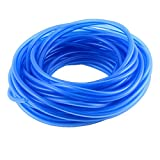 uxcell® 4mm 0.16 Inch Blue Vacuum Silicone Hose Racing line Pipe Tube 59ft 18M