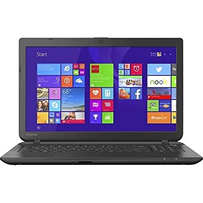 "Toshiba - Satellite C55D - 15.6"" Laptop - AMD A8-6410 Quad Core - 4GB Memory - 1TB Hard Drive - DVD±RW/CD-RW - AMD Radeon R5 graphics - Windows 8.1"