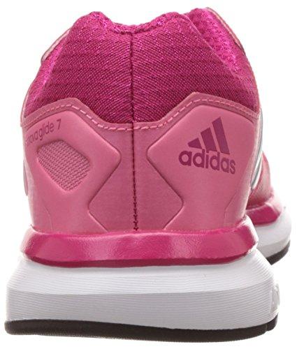 adidas Supernova Glide 7 K - Zapatillas para niño Rosa / Blanco / Plata / Fucsia