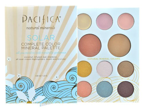 Pacifica Solar Complete Color Mineral Palette -- 0.8 oz - 3PC by