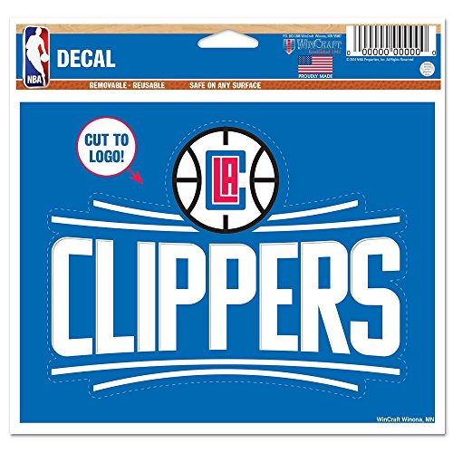Clippers Decal - WinCraft NBA Los Angeles Clippers Multi-Use Decal, 4.5