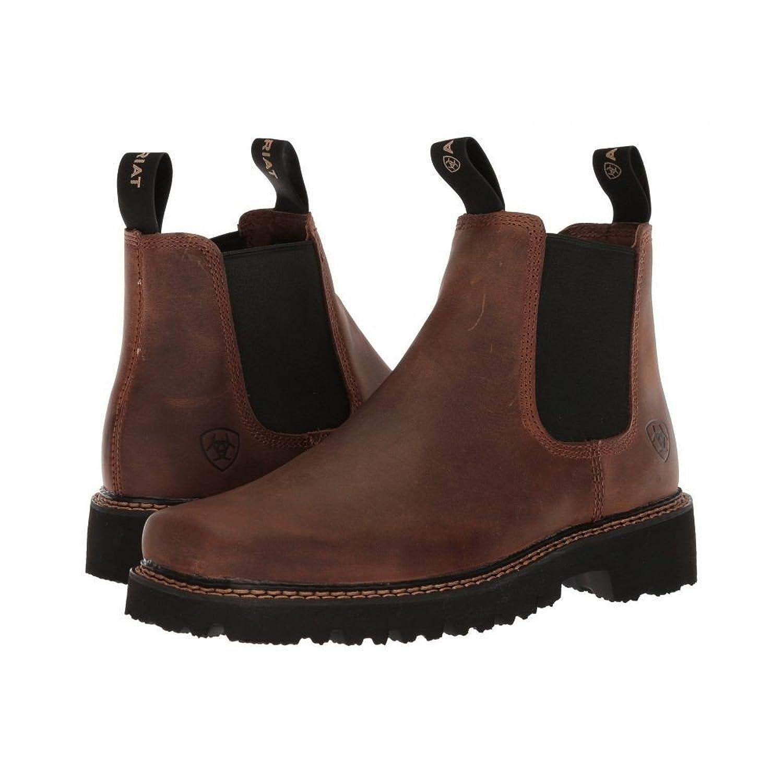 (アリアト) Ariat メンズ シューズ靴 Spot Hog Wide Square Toe [並行輸入品] B07BT4XC36