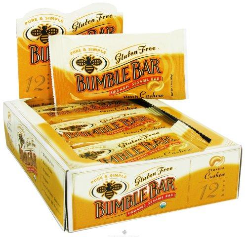 Bumble Bar B01352 Bumble Bar Original Energy Bar With Cashews – 12×1.4 Oz