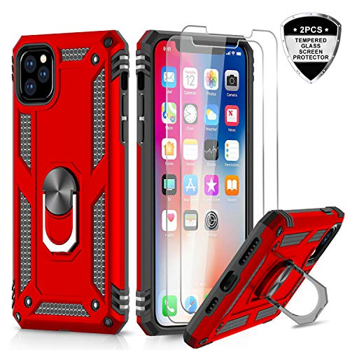 Used, iPhone 11 Pro Max Case with Tempered Glass Screen Protector for sale  Delivered anywhere in USA