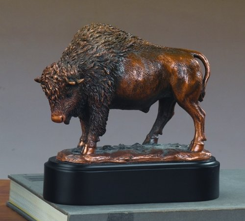 Proud Buffalo Statue – Bronze Finish
