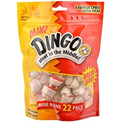 Dingo Mini Bones, 22 Pack (99040)