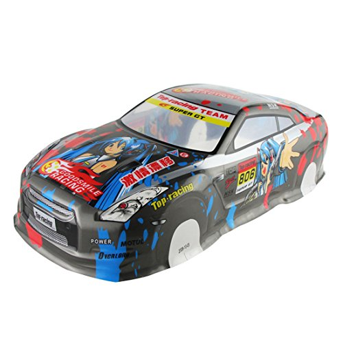 Coolplay 1/10 Printed PVC On Road Drift Car Body Shell RC Racing Accessories Nissan NA GTR ()