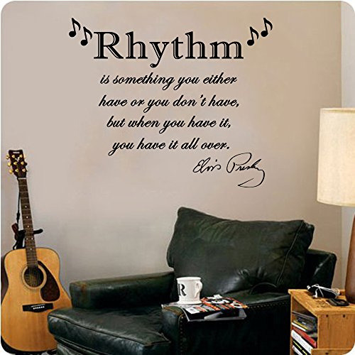 Presley quote Rhythm Something Either Dont Wall product image