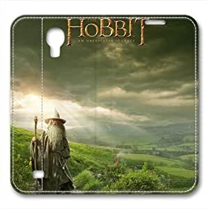 iCustomonline Leather Case for Samsung galaxy S4, The Hobbit Stylish Durable Leather Case for Samsung galaxy S4