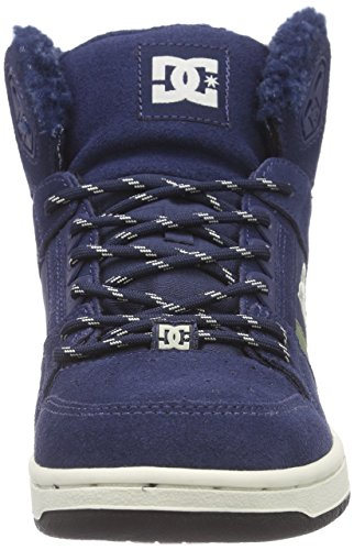 DC ShoesREBOUND HIGH WN J SHOE 410 - Zapatillas mujer azul - azul (Navy 410)