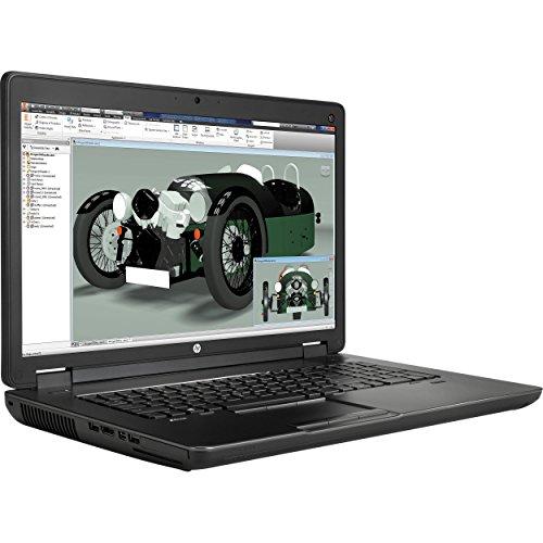 HP ZBook 17 G2 Mobile Workstation Laptop: 17.3' FHD (1920x1080), Intel Quad-Core i7-4810MQ, NVIDIA Quadro K3100M 2048MB, 16GB RAM, 500GB HDD, DVD+RW, FingerPrint Reader, Windows 7 Professional