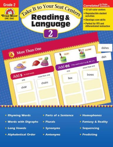 Take It to Your Seat Reading and Language Centers Grade 2