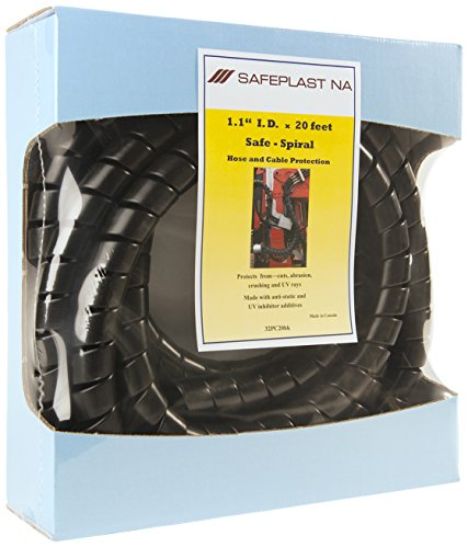 Pre-Cut Spiral Wrap Hose Protector, 1.25