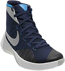 Nike Mens Hyperdunk 2015 Tb Basketball Shoes Navyphoto Bluewhite 749645-405 Size 9.5