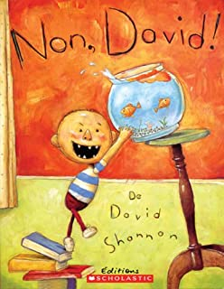Book Cover: No, David!