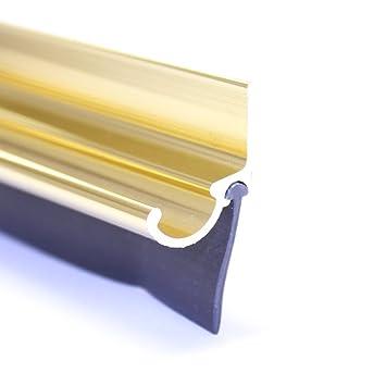 coastal shower doors 927gkit paragon series replacement drip rail kit gold