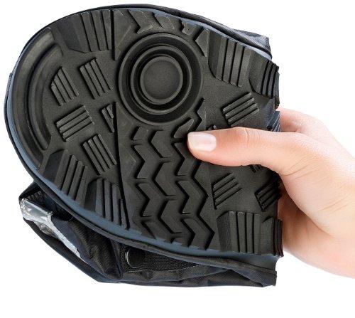 Semptec Urban Survival Technology Überschuhe: Regenüberschuhe mit dicker Sohle, Größe 42-43 (Wasserdichte Schuhüberzieher)