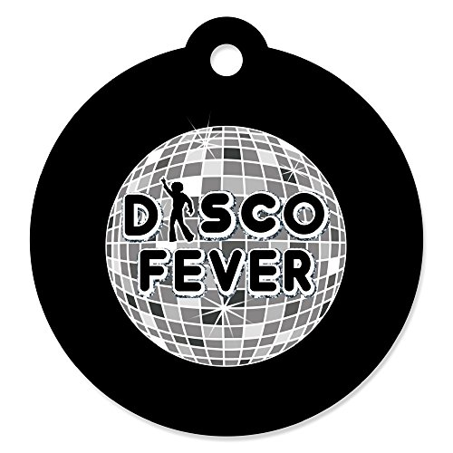 (70's Disco - 1970's Disco Fever Party Favor Gift Tags (Set of 20))