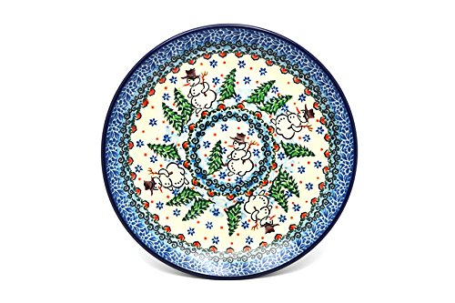 - Unikat Signature U4661 Salad//Dessert 7 3//4 Polish Pottery Plate