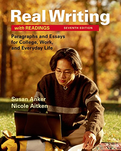 Real Writing W/Readings