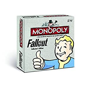 Winning Moves 44260 Monopoly: Fallout Collectors Edition (deutsch)