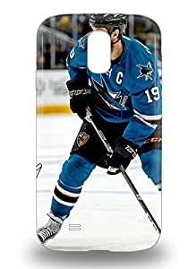 Galaxy Snap On Hard 3D PC Case Cover NHL San Jose Sharks Joe Thornton #19 Protector For Galaxy S4 ( Custom Picture iPhone 6, iPhone 6 PLUS, iPhone 5, iPhone 5S, iPhone 5C, iPhone 4, iPhone 4S,Galaxy S6,Galaxy S5,Galaxy S4,Galaxy S3,Note 3,iPad Mini-Mini 2,iPad Air )