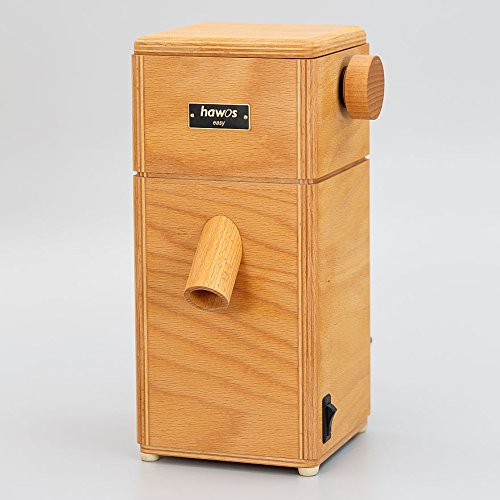 hawos Easy Stone Grain Flour Mill in Wood 110 Volts 360 Watts Grinding Rate 4 oz / min by Happy Mills (Image #9)
